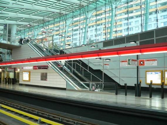 Metro Praha Střížkov