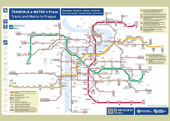 Metro a tramvaje